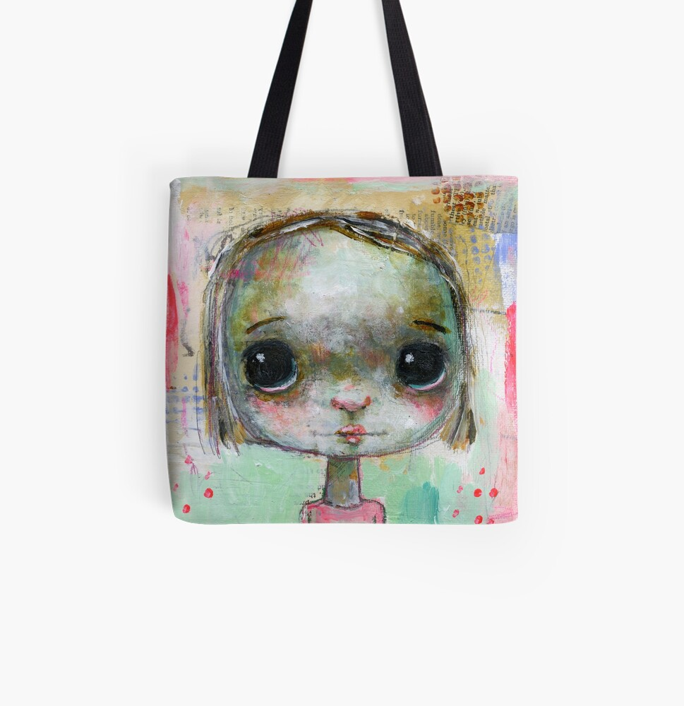 Dotty All Over Print Tote Bag