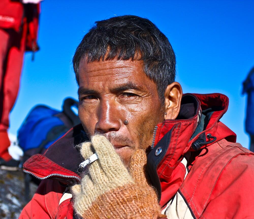 Nepalese Sherper by Paul Golz