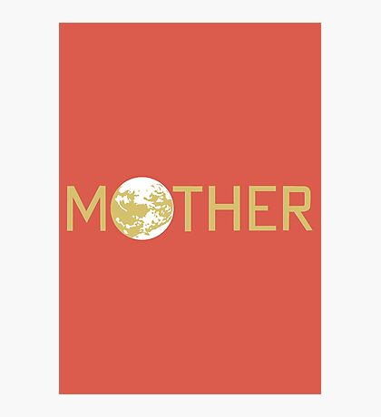 Mother Logo Photographic Print