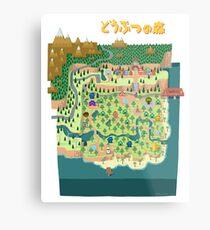 Animal Crossing / どうぶつの森 Metal Print