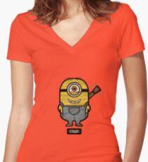 Ukulele Stuart Women's Fitted V-Neck T-Shirt