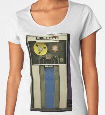 Retro Technology Magnetic Tape Drive Women's Premium T-Shirt