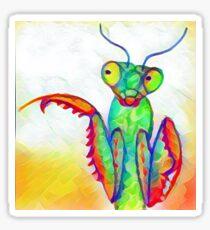 Praying Mantis Stickers Redbubble