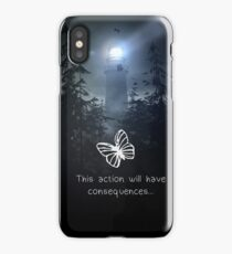Life is strange - This action will have consequences iPhone Case/Skin