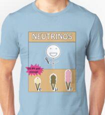 Neutrino Flavors Unisex T-Shirt