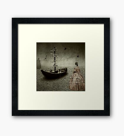 The Mess You Left Behind.... Framed Print
