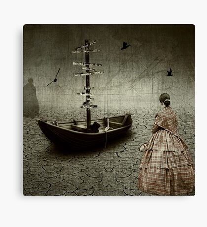 The Mess You Left Behind.... Canvas Print