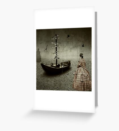 The Mess You Left Behind.... Greeting Card