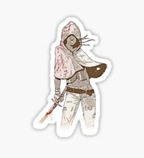 Michonne Sticker