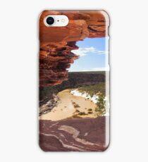 Peaking Through Natures Window  iPhone Case/Skin