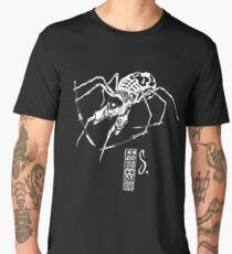 Spider Black Men's Premium T-Shirt