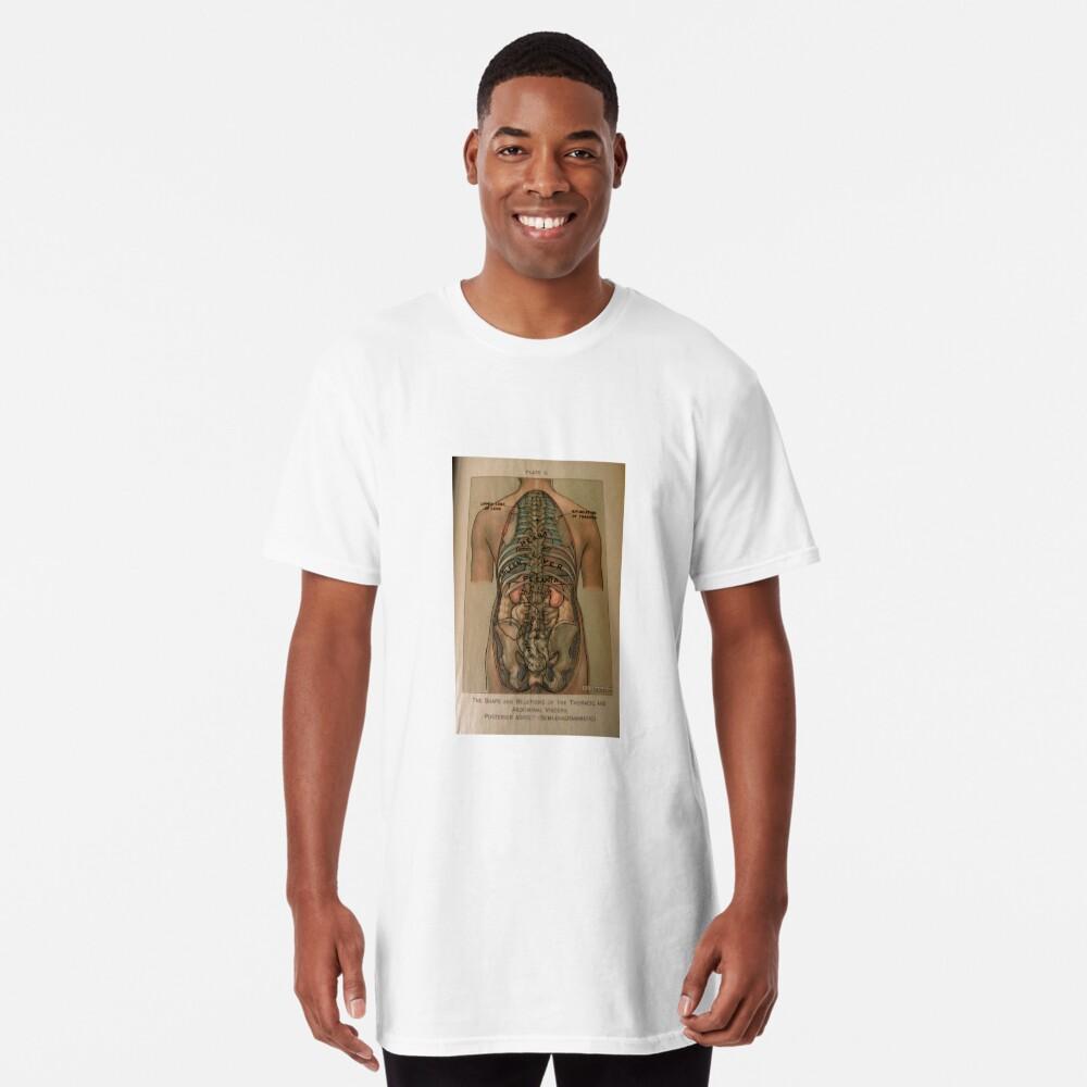 Antike Anatomie Buch Zeichnung Longshirt