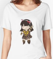 Chibi Warrior Princess Women's Relaxed Fit T-Shirt