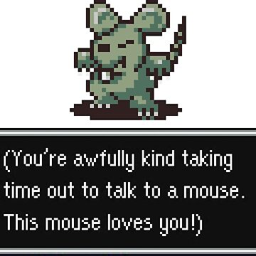 This Mouse Loves You by spriteastic