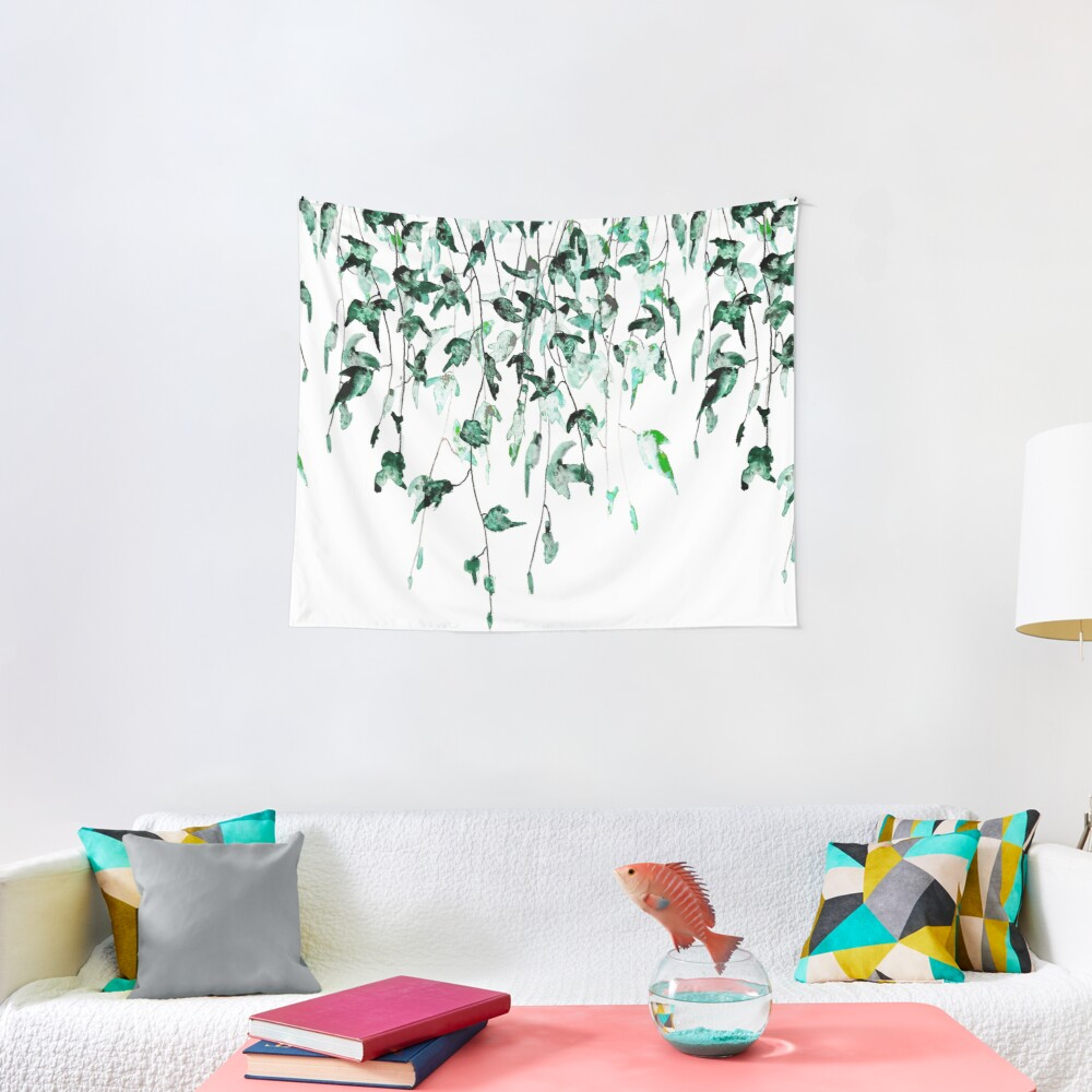 Ivy on the wall  Tapestry