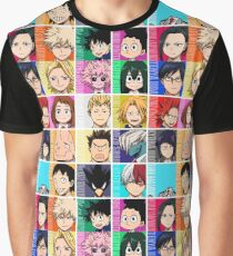 My Hero Academia Class 1-A Graphic T-Shirt