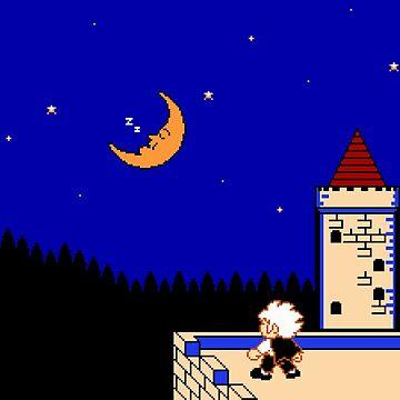 Let Kid Dracula Sleep by spriteastic