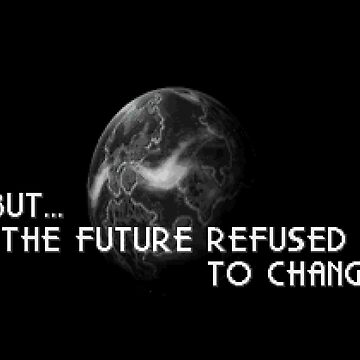 The Future Refused To Change by spriteastic
