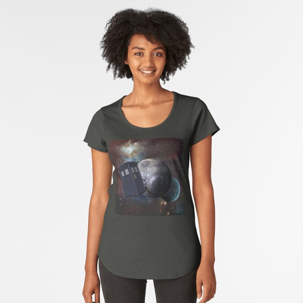 Zeitflug 2 Premium Rundhals-Shirt