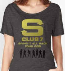 S Club 7 Bring It All Back Tour 2015 Women's Relaxed Fit T-Shirt