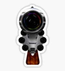 Gun Concept Camera Sticker