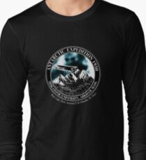 Miskatonic University Antarctic Expedition : Inspired by At The Mountains of Madness Long Sleeve T-Shirt
