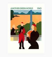 Brian Eno - Another Green World Art Print
