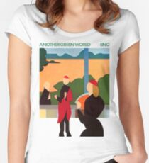 Brian Eno - Another Green World Women's Fitted Scoop T-Shirt