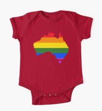 Australia LGBTQ Equality Rainbow Flag Kids Clothes