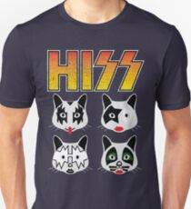 Hiss Kiss - Cats Rock Band Unisex T-Shirt