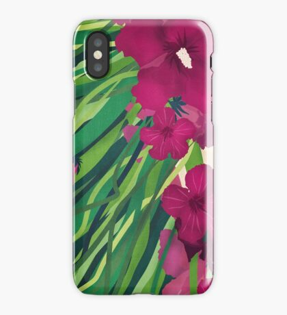 Flowers in my hair iPhone Case