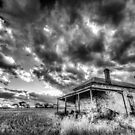 The clouds roll in by Dave  Hartley