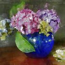 Hydrangeas by Gilberte