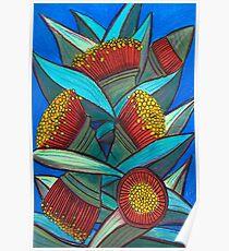 Pastelle - Eukalyptus-Cluster Poster