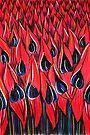 Pastel Art - Surt Pea Army by Georgie Sharp