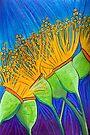 Pastel Art- Dancing in the Breeze by Georgie Sharp