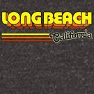 Long Beach, CA | City Stripes by retroready