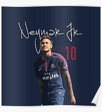Neymar Jr PSG Poster