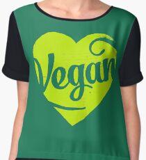 Vegan Women's Chiffon Top