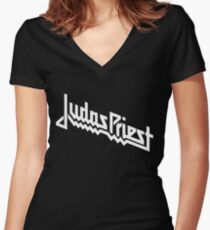 Judasp Women's Fitted V-Neck T-Shirt