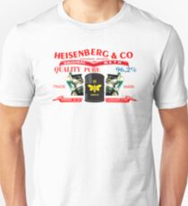BREAKING BAD HEISENBERG ART BACK JEANS T-Shirt