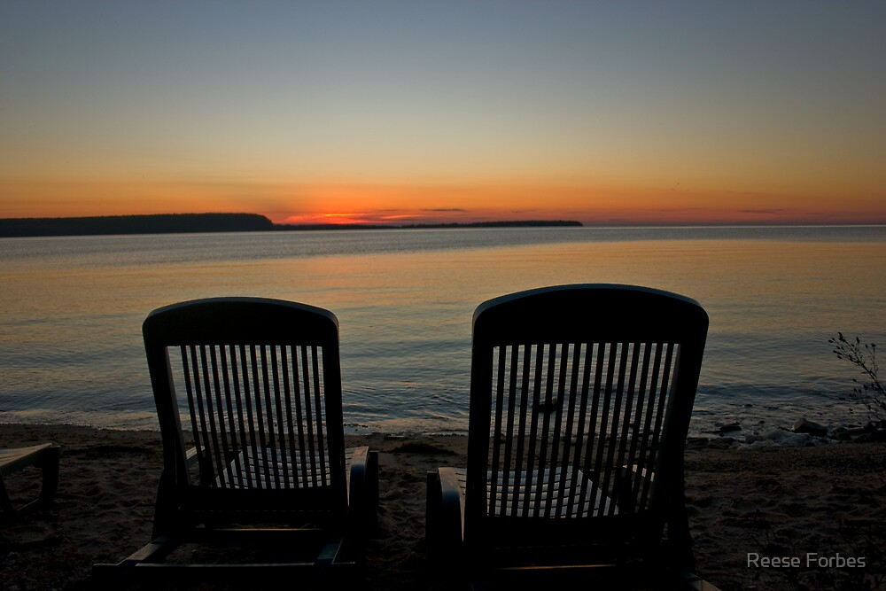 Come Sit With Me And Watch The Sunset by Reese Forbes