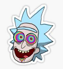 Hippie Rick Sticker
