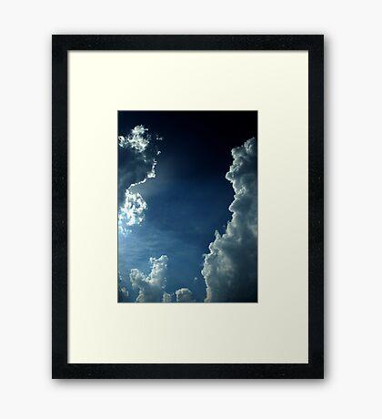 He Brightens My Life Framed Print