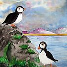 A Puffin Paradise by JacquiK
