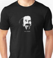 Alan Watts Zen philosopher t shirt T-Shirt