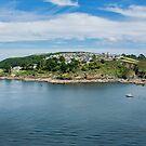 Polruan south Cornwall coast by eddiej