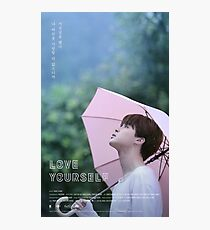BTS (방탄소년단) LOVE YOURSELF - Jimin (지민) Photographic Print