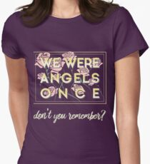 We Were Angels Once - The Great Comet Design Women's Fitted T-Shirt