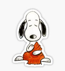 Buddha Snoopy blank Sticker